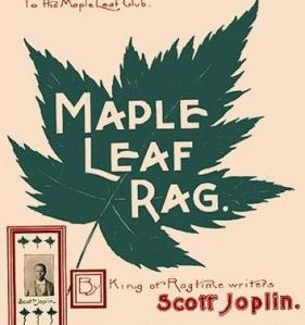 Maple Leaf Rag sheet music cover